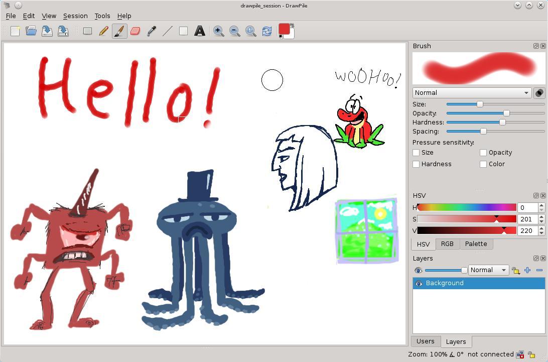 DrawPile, una herramienta de dibujo para trabajar en equipo | Todos ...