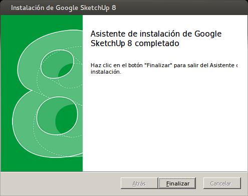 Sketchup dise o en 3d en linux ticgalicia for Programas de diseno de interiores para windows 8