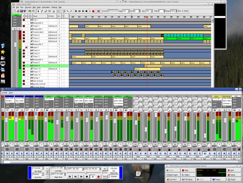 Cómo grabar voz sobre una pista de audio con avs audio editor?