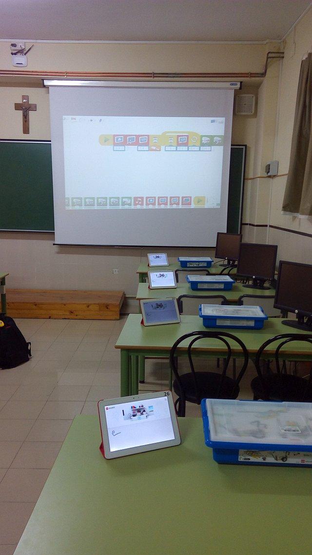 aula preparada