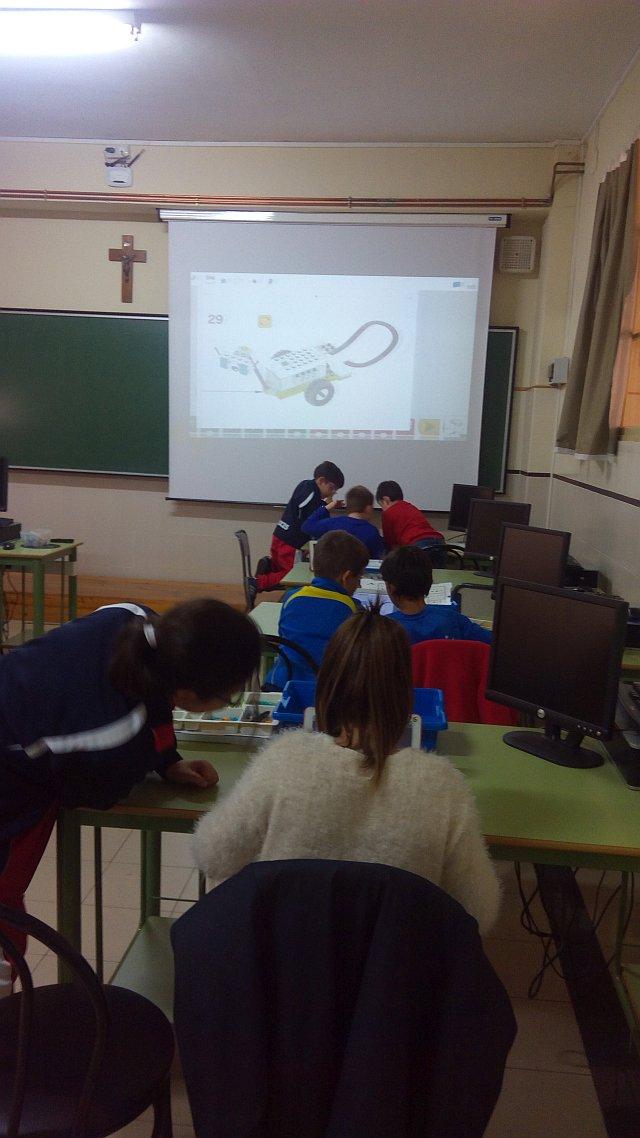 aula en uso